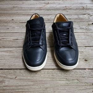 COLE HAAN Casual Dress Black Leather  Sneakers